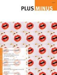 PlusMinus 1/07 - Aids-Hilfen Österreichs