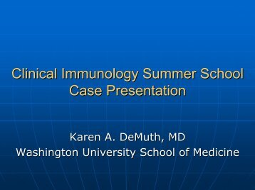 Karen Demuth, MD - Clinical Immunology Society
