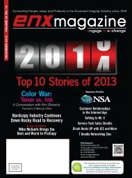 December 2013 PDF Issue - ENX Magazine