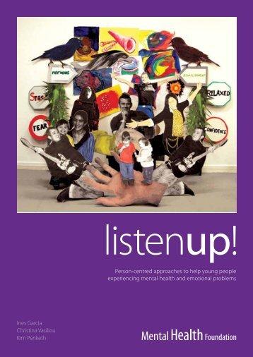 Listen Up - Social Welfare Portal