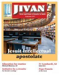jivan_current_issues - Jesuit Conference Of South Asia