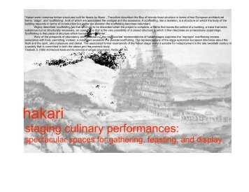 hakari - Spatial Design@Massey