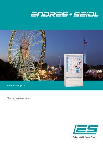 Steckdosenverteiler - Endres + Seidl Energie GmbH