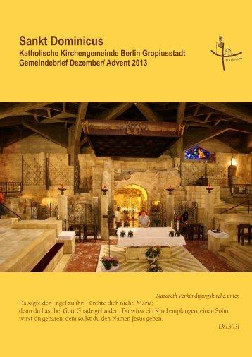15 Uhr - Sankt Dominicus