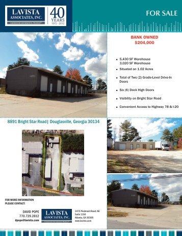 Property Flyer - Lavista Associates, Inc.
