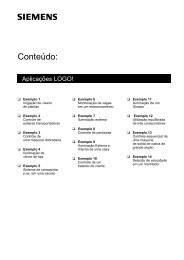 Aplicações do LOGO! - Industry