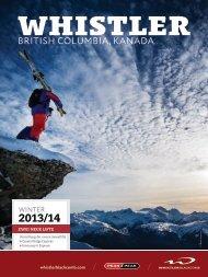Whistler Winter 2013.14 Broschüre - Deutsch Version | 7.1 MB