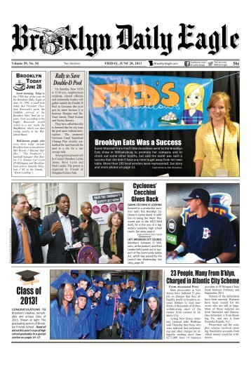 June 28 2013 Fri BDE.pdf - Brooklyn Daily Eagle