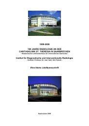 die Jubiläumsschrift als Download. - Caritasklinik St. Theresia
