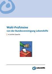 Wahl-Pruefsteine-Leichte-Sprache - Bundesvereinigung Lebenshilfe