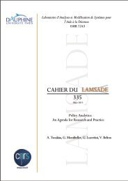 Download - Lamsade - Université Paris Dauphine