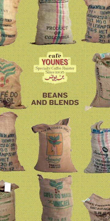 BEANS AND BLENDS - Cafe Younes