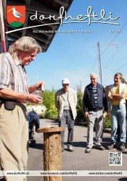 Das informative Monatsmagazin für Boniswil 10 / 2013 - dorfheftli