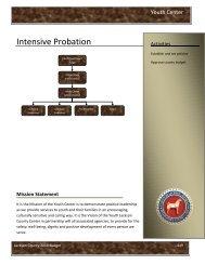Child Care - Intensive Probation - Jackson County
