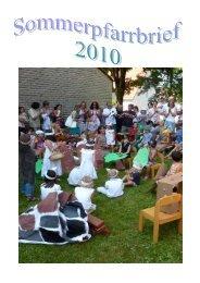 Sommer 2010 - Katholische Pfarrgemeinde Mariä Geburt Hersbruck