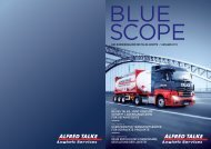 Kundenmagazin blue scope Ausgabe 2013 - TALKE Logistic Services
