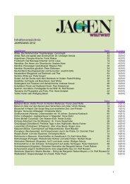 Jahresinhalt 2012