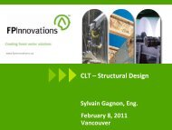 CLT-Structural Design