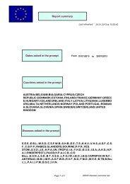 ADNS diseases overview - Vmvt.lt