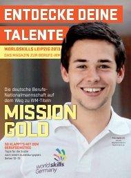 Entdecke deine Talente - das Magazin zur Berufe-WM - WorldSkills ...