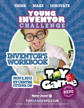 Inventor's Workbook - Toy & Game Expo