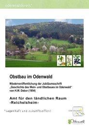Obstbau im Odenwald - Deutsches Jagd Lexikon