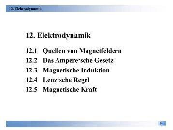 12. Elektrodynamik - Physik