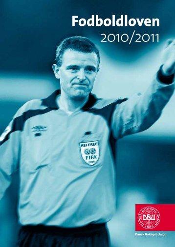 Fodboldloven 2010/2011 - DBU