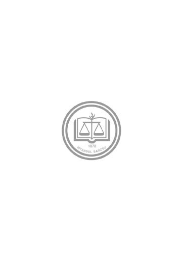 stajyer avukatlarin el kitabi - İstanbul Barosu