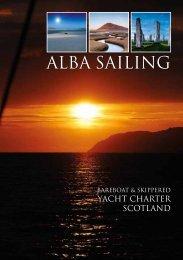 Alba Sailing 2014 Brochure