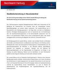 Stadtteilentwicklung in Neuwiedenthal - Lawaetz-Stiftung