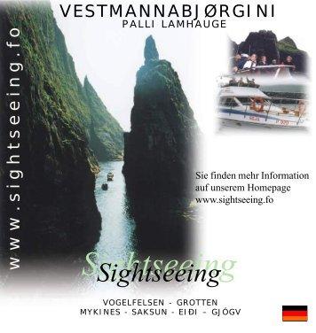 Sightseeing - Vestmannabj rgini - Vestmannabjørgini