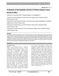Evaluation of Anti Epileptic Activity of Psidium Guajava Leaves ...