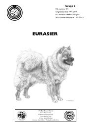 Standard för Eurasier - Svenska Kennelklubben
