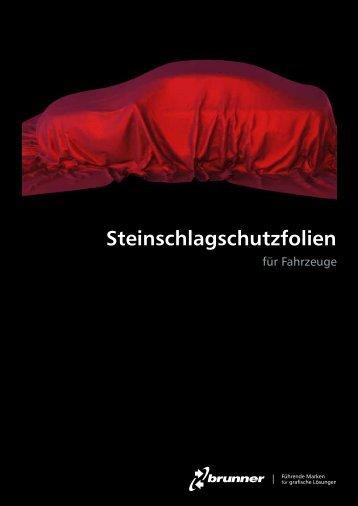 Prospekt Steinschlagschutzfolien für Autos - Spandex