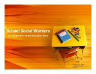 School Social Workers - Tennessee Association of School Social ...