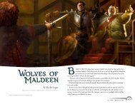Wolves of Maldeen - Wizards of the Coast