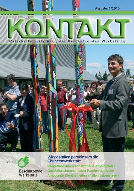 Ausgabe 1/2010 - Beschützende Werkstätte für geistig und ...