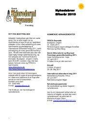 Vinter 2010-11 - Dansk Sklerodermi & Raynaud Forening