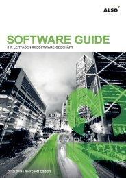SOFTWARE GUIDE - Microsoft - ALSO Schweiz AG