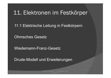 k - AG Tieftemperaturphysik, Uni Jena