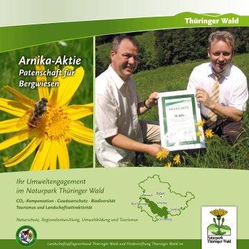 Arnika-Aktie - Förderstiftung Thüringer Wald