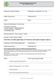 Kinder - Zahnarzt in Altenoythe, CM Kreilkamp, Zahnarzt, Praxis ...
