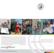 Digitaler Flyer DFB-Stiftung Egidius Braun - Fussball stiftet Zukunft
