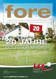 20 jahre - Golfclub Mudau eV