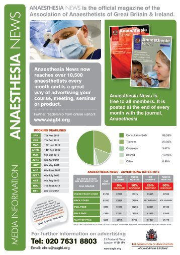 ANAESTHESIA NEW S - aagbi