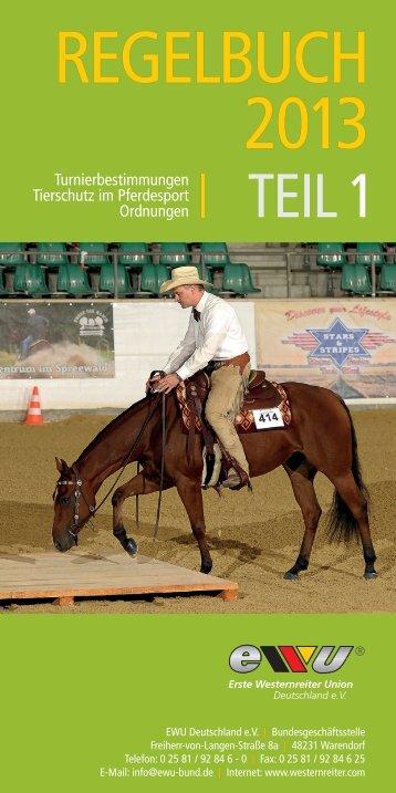 Turnierbestimmungen Tierschutz im Pferdesport ... - Wittelsbuerger