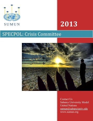 SPECPOL: Crisis Committee - SUMUN - Sabanci University Model ...
