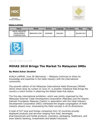 Registration Form Malaysian Standard On 2400 Series Halal Industry