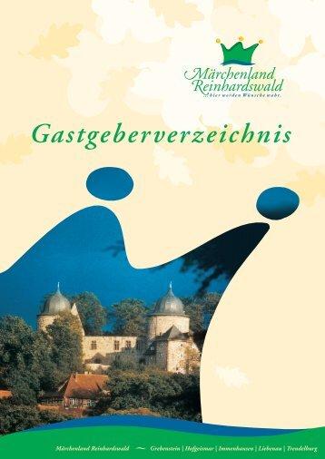 Gastgeberverzeichnis - Deutscher-Wildgehege-Verband eV